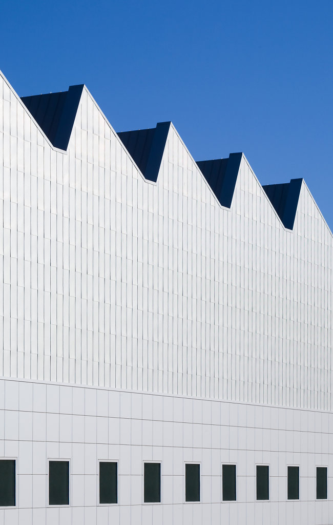 Exterior shot of The Crocker Art Museum in Sacramento