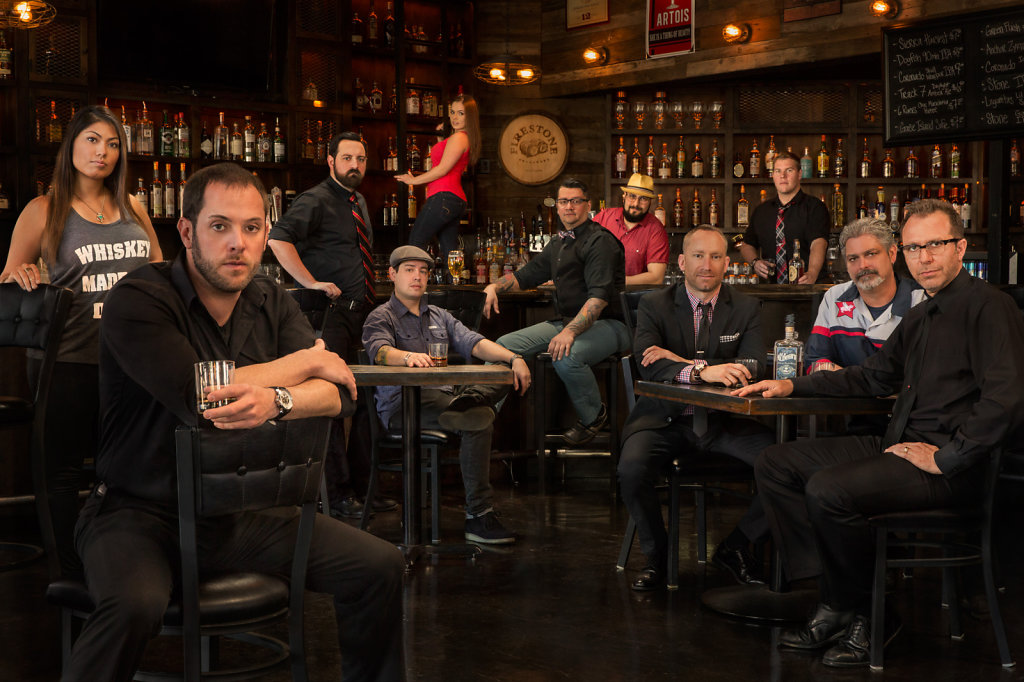 Sacramento bartenders group portrait