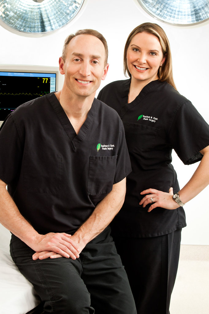 Professional Shoot of Medical Doctors in Black
