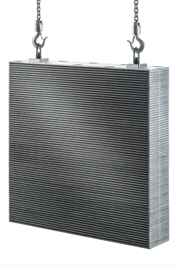 Product photo of industrial radiator