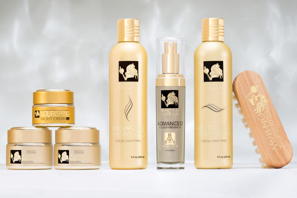 Product photo of boutique creams
