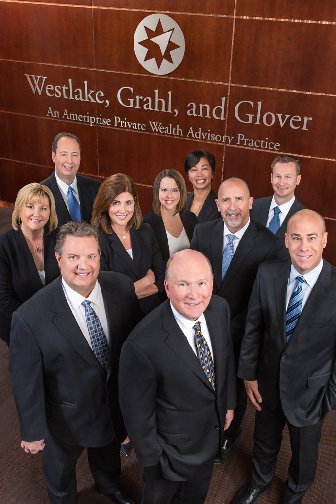 Group business portrait