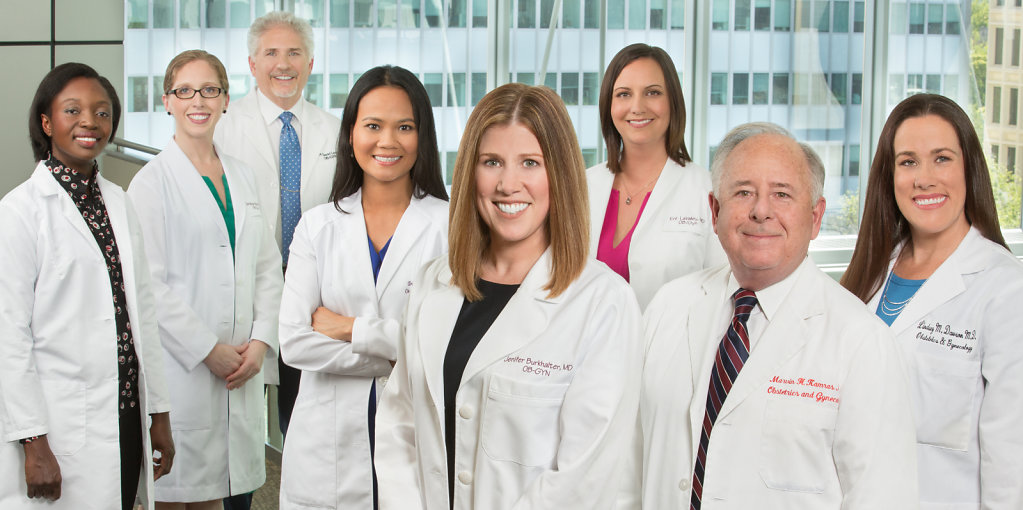 Sacramento medical professionals group portrait