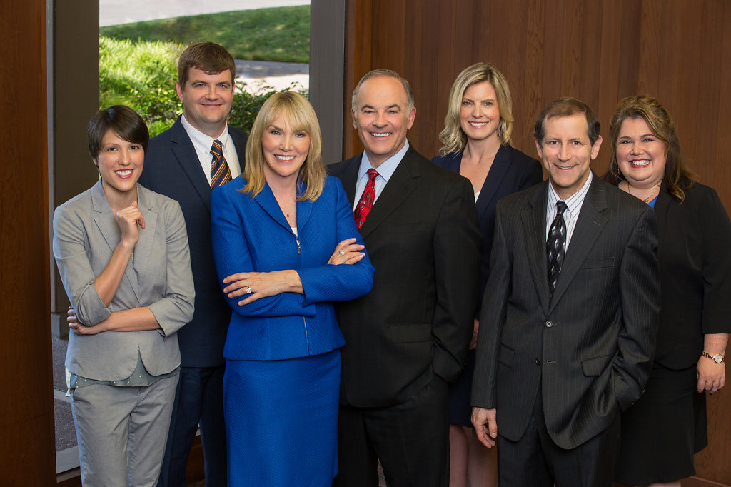 Group portrait of Sacramento law firm