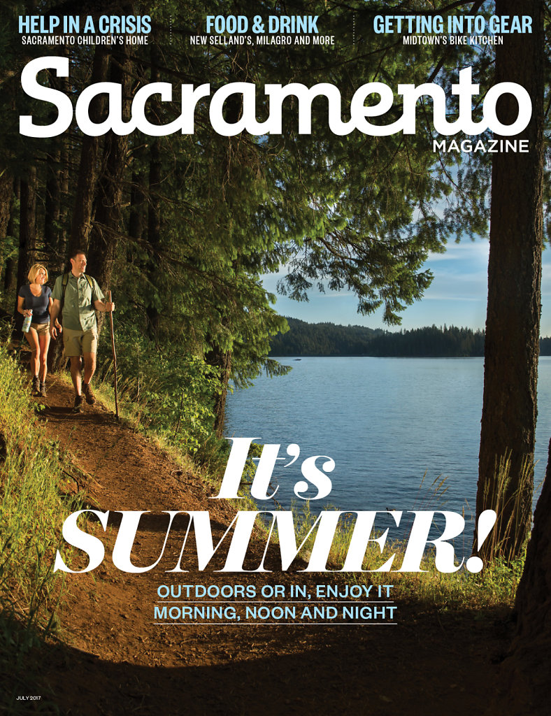 Summer Cover for SacMag