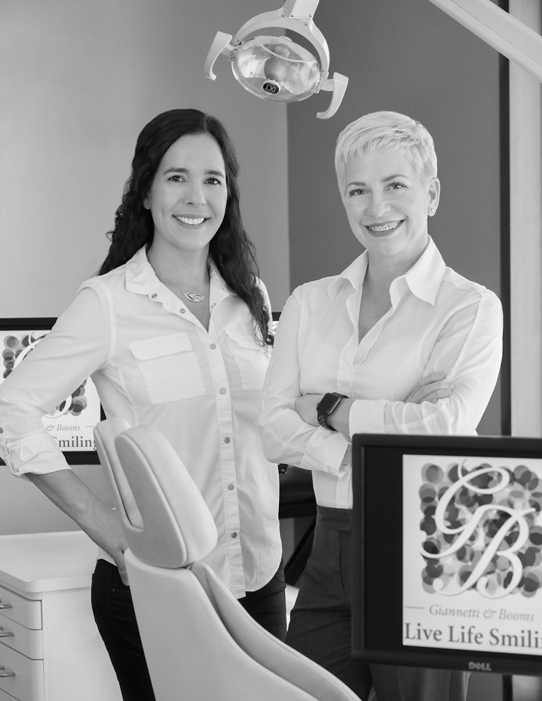 Two women dentists in office portrait
