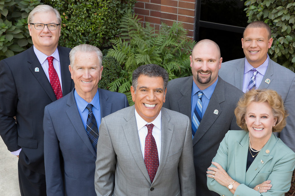 Sacramento area local government executives in business portrait