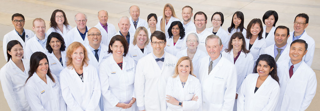 UC Davis Medical Group Portrait by Rudy Meyers