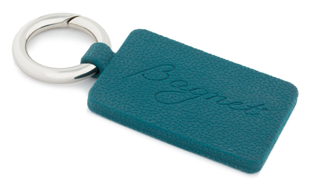 Teal Purse Magnet With Silver Ring