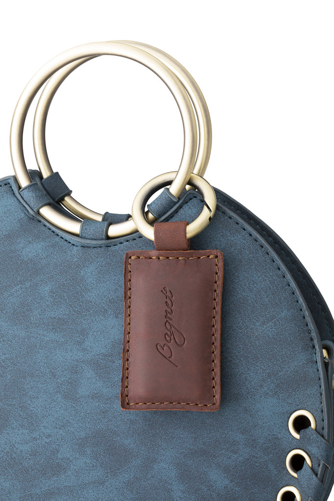 Brown Purse Magnet Blue Bag Product