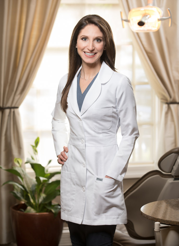 Female Dental Doctor in White Coat